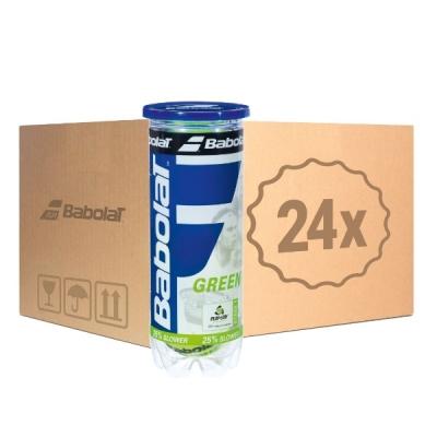 Мячи для тенниса Babolat Green 3b Box x72 501066