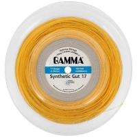 Струна для тенниса Gamma 200m Challenger Synthetic Gut Gold