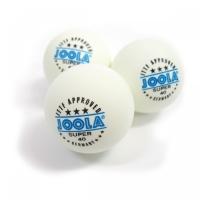 Мячи для настольного тенниса Joola 3* Super x3 White